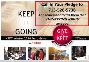 KPFT FUND-RAISER (WINTER 2014), THINKWING RADIO