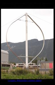 Darrieus Vertical-Axis Wind Turbine